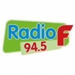 Logo da emissora Radio F 94.5 FM
