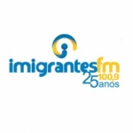 Logo da emissora Rádio Imigrantes 100.9 FM