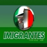 Logo da emissora Rádio Imigrantes 1550 AM