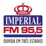 Logo da emissora Rádio Imperial 95.5 FM