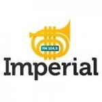 Logo da emissora Rádio Imperial 104.5 FM