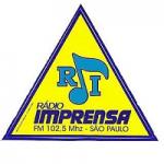 Logo da emissora Rádio Imprensa 102.5 FM