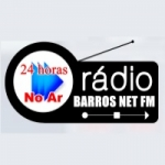 Logo da emissora Barros Net FM