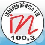 Logo da emissora Rádio Independência 100.3 FM
