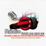 Logo da emissora Web Rádio IEAD Ministério Cristo Vem