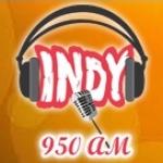 Logo da emissora Rádio Indy 950 AM