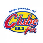 Logo da emissora Rádio Clube 88.3 FM