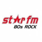 Logo da emissora Star FM 80er Rock