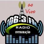 Logo da emissora Rádio Integração 106.3 FM