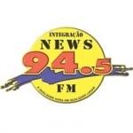 Logo da emissora Rádio Integração News 94.5 FM