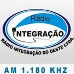 Logo da emissora Rádio Integração 1180 AM