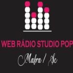 Logo da emissora Web Rádio Studio Pop