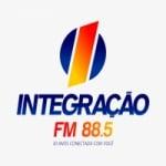 Logo da emissora Rádio Integração 88.5 FM