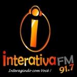 Logo da emissora Rádio Interativa 91.7 FM