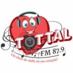 Logo da emissora Rádio Tottal 87.9 FM