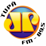 Logo da emissora Rádio Jovem Pan 89.5 FM
