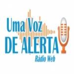 Logo da emissora Rádio Web Uma voz de Alerta