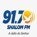 Logo da emissora Rádio Shalom 91.7 FM