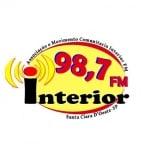 Logo da emissora Rádio Interior 98.7 FM