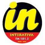 Logo da emissora Rádio Interativa 101.3 FM
