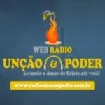 Logo da emissora Rádio Unção e Poder