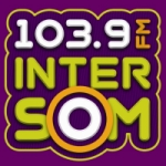 Logo da emissora Rádio Intersom 103.9 FM