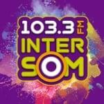 Logo da emissora Rádio Intersom 103.3 FM