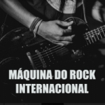 Logo da emissora Rádio Máquina do Rock