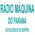 Logo da emissora Rádio Máquina do Paraná