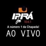 Logo da emissora Rádio Ipirá 104.1 FM