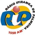 Logo da emissora Rádio Ipiranga 1550 AM