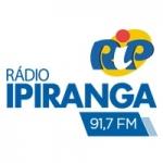 Logo da emissora Rádio Ipiranga 91.7 FM