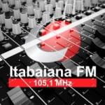 Logo da emissora Rádio Itabaiana 105.1 FM