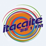 Logo da emissora Rádio Itacaité 88.1 FM