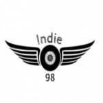 Logo da emissora Indie 98
