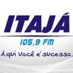 Logo da emissora Rádio Itajá 105.9 FM