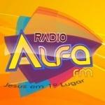 Logo da emissora Alfa FM Campos