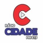 Logo da emissora Rádio Cidade 87,9 FM