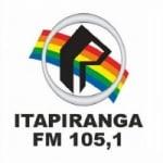Logo da emissora Rádio Itapiranga 105.1 FM