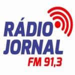 Logo da emissora Rádio Jornal 91.3 FM
