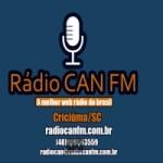 Logo da emissora Rádio CAN FM