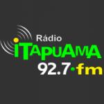 Logo da emissora Rádio Itapuama 92.7 FM