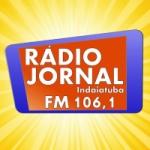 Logo da emissora Rádio Jornal 106.1 FM