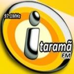Logo da emissora Rádio Itaramã 97.1 FM