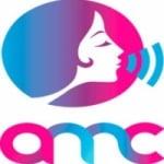 Logo da emissora Mulheres na Comunição