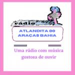 Logo da emissora Rádio Atlandita 80