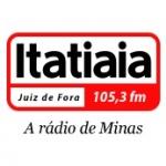 Logo da emissora Rádio Itatiaia 105.3 FM