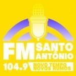 Logo da emissora Rádio Santo Antonio 104.9 FM