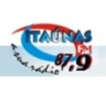 Logo da emissora Rádio Itaúnas 87.9 FM