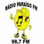 Logo da emissora Rádio Paraíso 98.7 FM